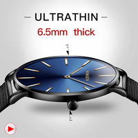 2018 Top Brand Luxury BINKADA Wristwatch Quartz Men Watch Automatic Watches Ultra Thin Clock Male Erkek