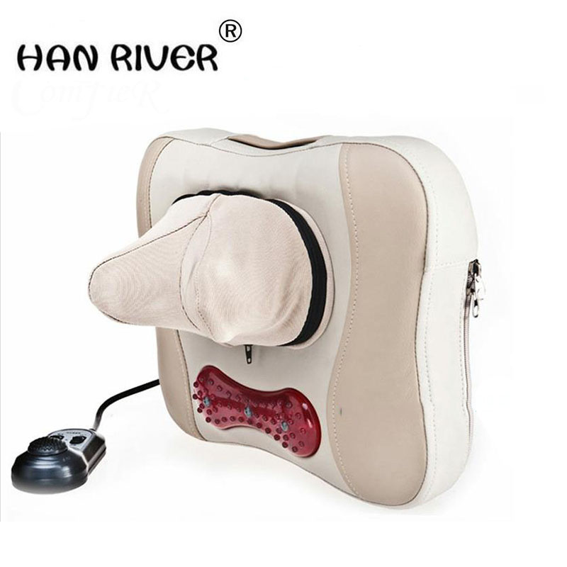Multifunctional pillow kneading massage neck massager massage chair cushion for leaning on of neck massager and comfortable цена