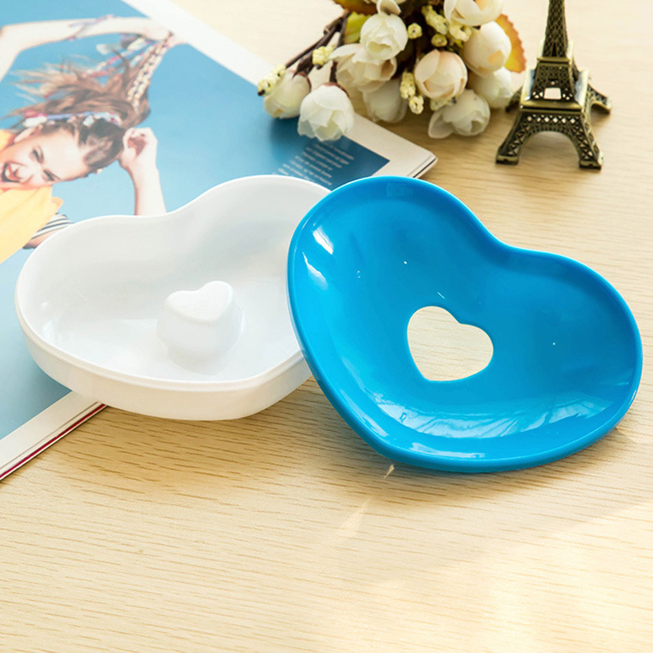 Hot Toilet Soap Plastic Silicone Holder Plate Bathroom Accessories ...