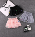 2016 Cute Baby Girl Clothes Tutu Skirts Lace Princess Skirt Soft Cotton Infant kids Pettiskirt for spring summer
