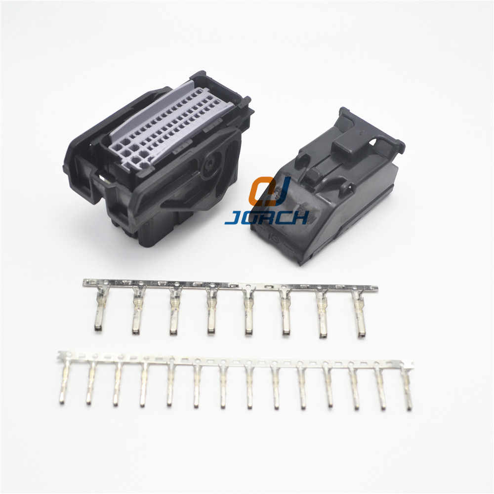 free shipping 1 set 64pin ecu female connector automotive delphi plug ppi0001501 with crimp terminal  [ 1000 x 1000 Pixel ]