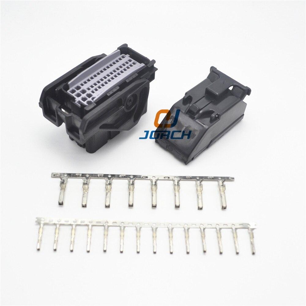 Freies verschiffen 8 set 8pin ecu buchse automotive delphi stecker  PPI0008508 mit crimp terminal