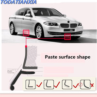 2018 New Car styling Car Front Bumper Lip Sticker Protector for skoda octavia jeep renegade chevrolet captiva tiguan Accessories