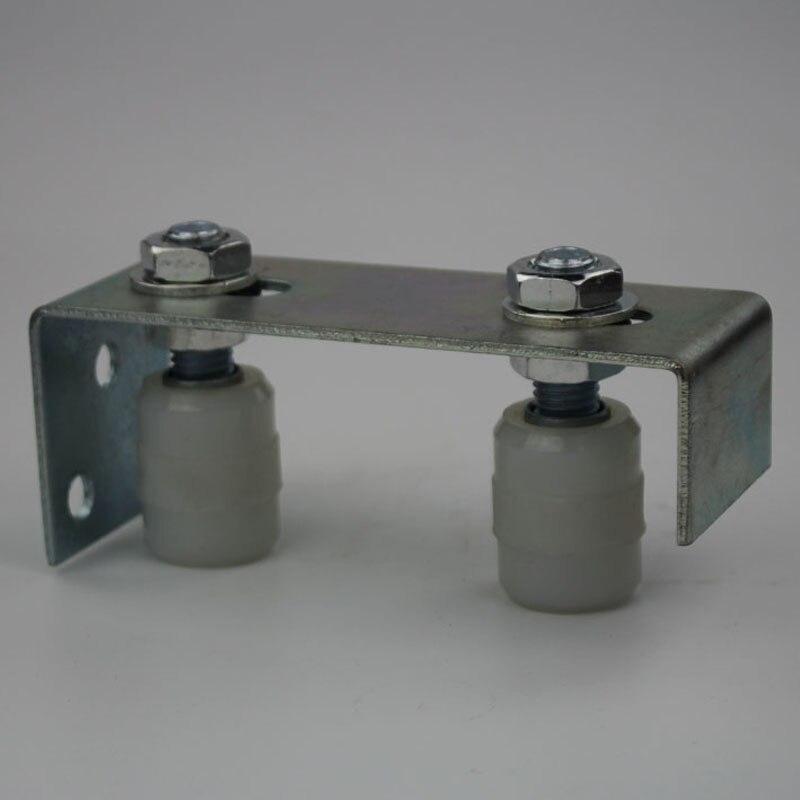 Sliding Gate/door Upper Guide Roller Bracket,2pcs Nylon Roller Diameter 30mm,length 40mm ,and With M14X68 Screw  1pcs/lot