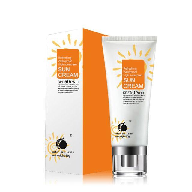 42ddfe30be9002 60g Schoonheid Huidverzorging Gezicht Zonnebrandcrème Crèmes Zon Lotion SPF  50 PA + + Isolatie UV Sunblock