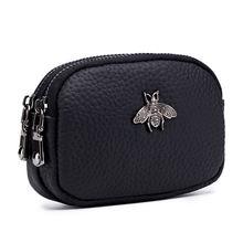 Кошелек на двойной молнии мини сумка милый кошелек для девушек