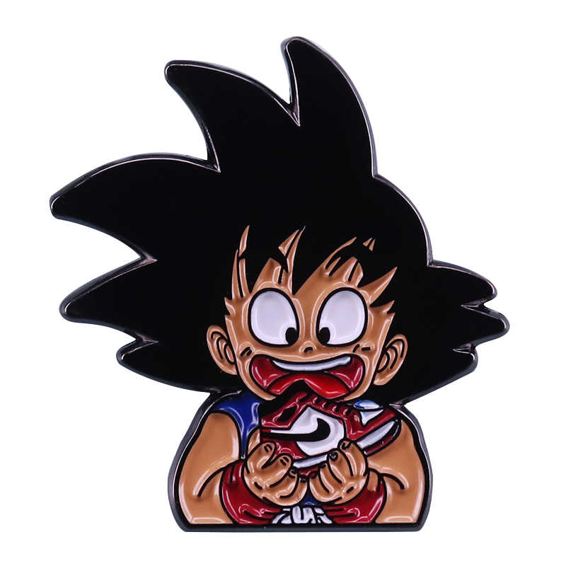 DBZ scarpe pin retro classic mash-up divertente fan di Dragon Ball regalo
