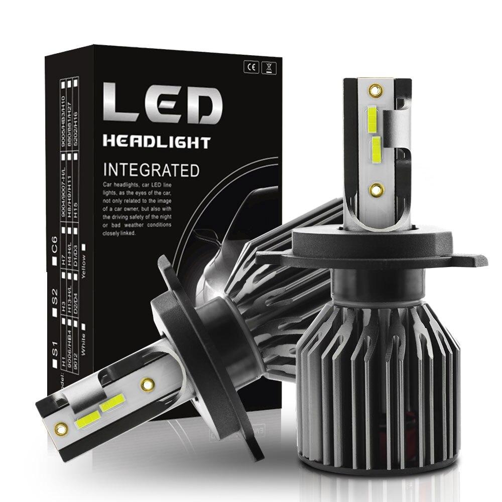 2x Nighteye 72W 9000LM H11 H9 H8 LED Light Headlight Driving Fog Bulbs Lamps BG1