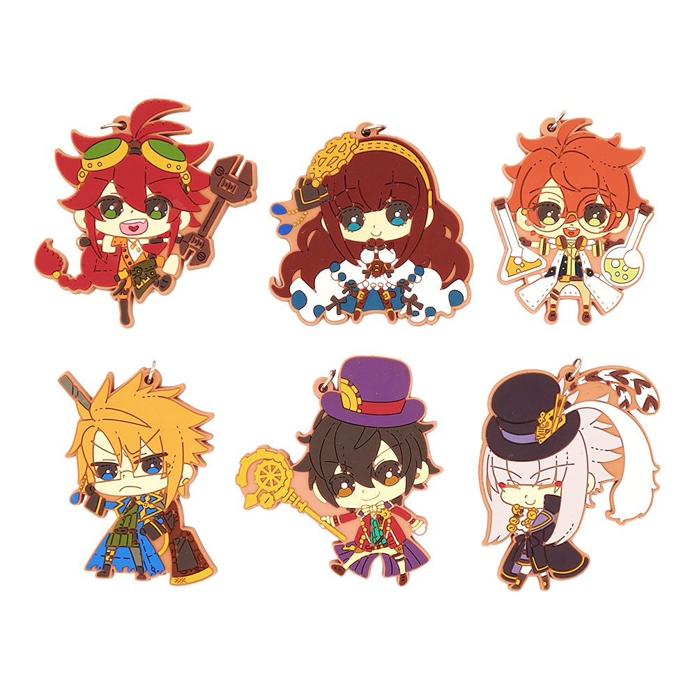 Code Realize Anime Victor Frankenstain Saint-Germain Impey Barbicane Cardia Beckford Abraham Van Rubber Keychain