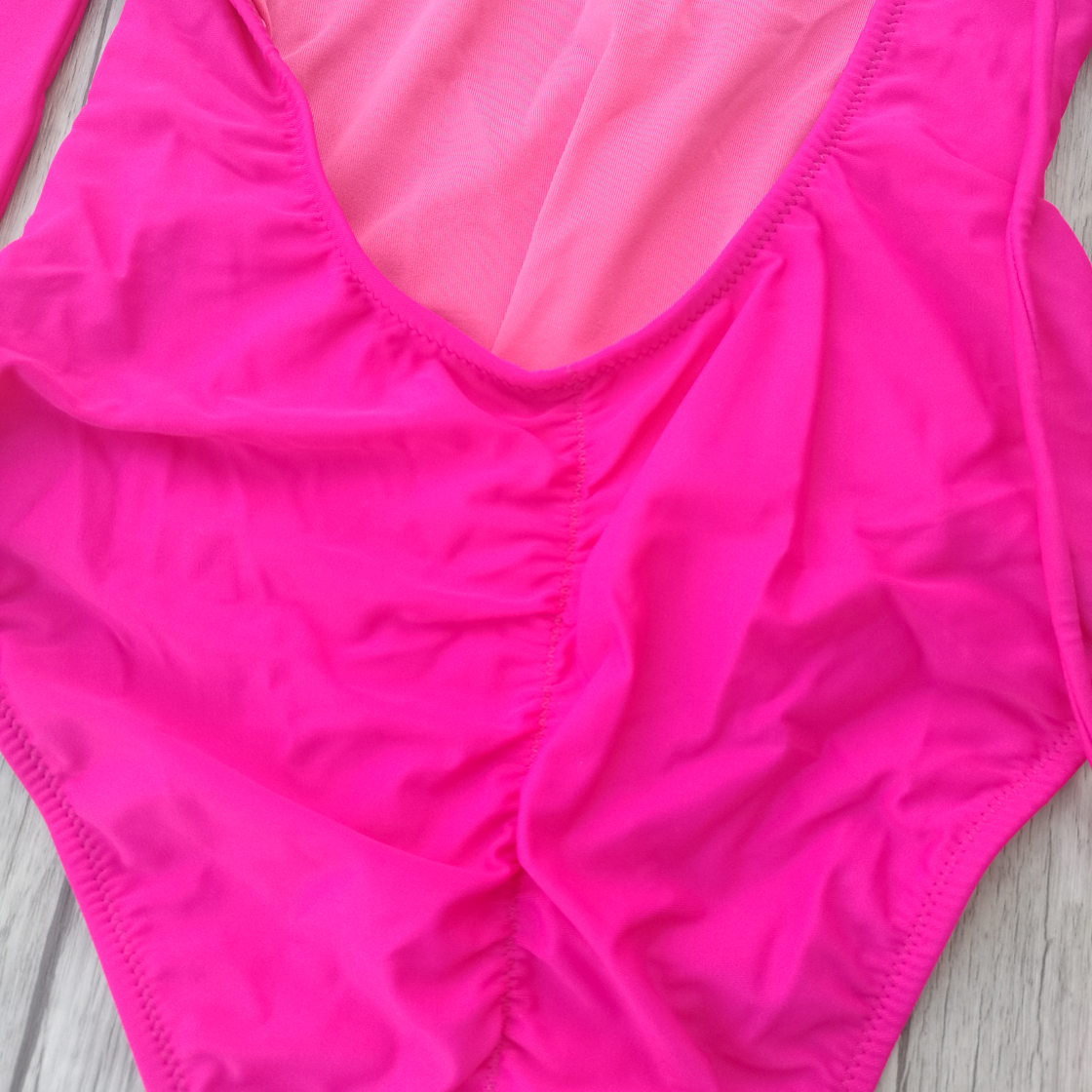 Women One-pieces Swimsuit Pink Vintage Swimwear Underwier woman push up Sexy Secret Mini micro brazilian 1 pieces Tankinis