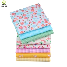 Shuanshuo New Color Fabric Patchwork Tissue Cloth Of Handmade DIY Quilting Sewing Baby&Children Sheets Dress 40*50cm 8pcs/lot