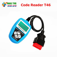 5pcs/lot JOBD Auto Code Reader T46 Update Online Compliant With OBDII 16PIN US European And Asian vehicles OBD2 Code Scanner