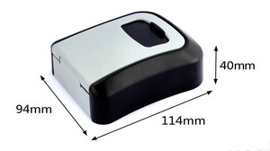Image 5 - Caja de Seguridad para llaves de aleación de aluminio montada en la pared caja de seguridad para llaves, resistente a la intemperie, combinación de 4 dígitos, caja de almacenamiento para llaves para interiores y exteriores