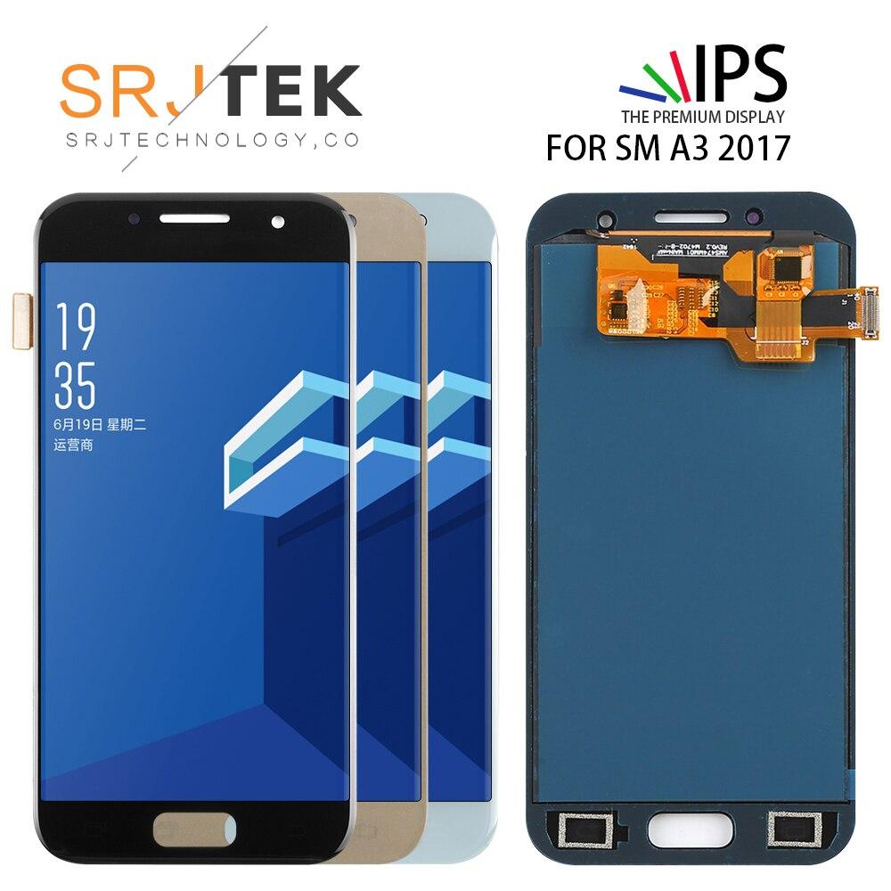 4.7 ''écran TFT pour Samsung Galaxy A3 2017 A320 A320F A320FL A320Y LCD écran tactile numériseur assemblée remplacement