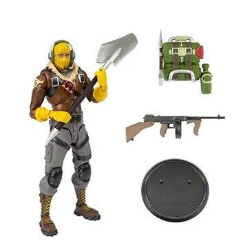 19cm nuevo juego fuerte noche batalla Royale RAPTOR acción figura juguetes Battle Royale juego personaje PVC figura modelo juguete