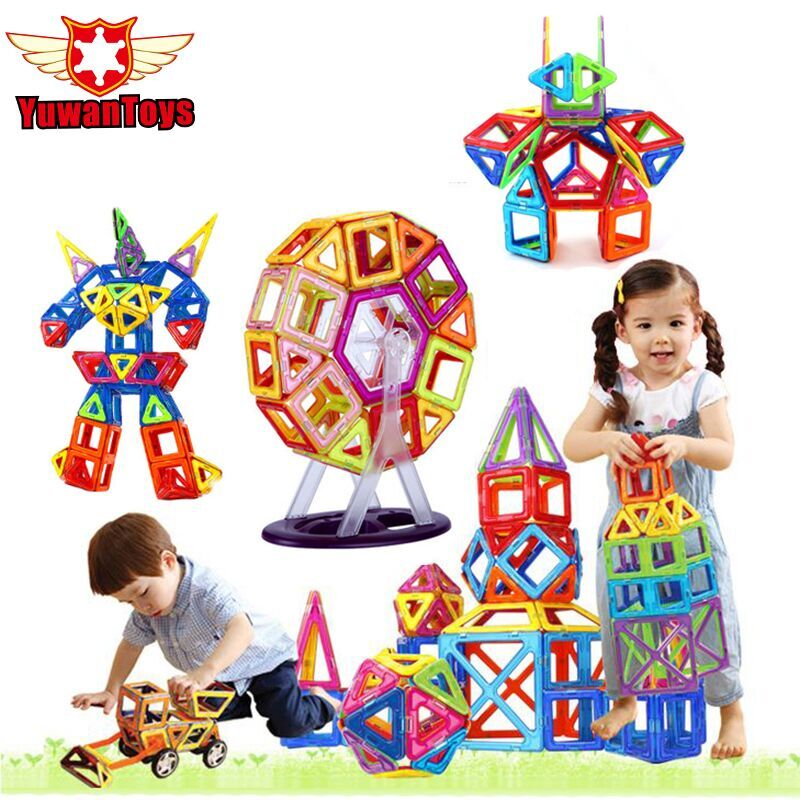 Combination Packages Magnetic Designer Construction Building Blocks Kids Toys Educational Plastic Bricks Enlighten Blocks DIY kids toys magnetic bricks magformers designer educational toys wheel parts construction building blocks plaything toys