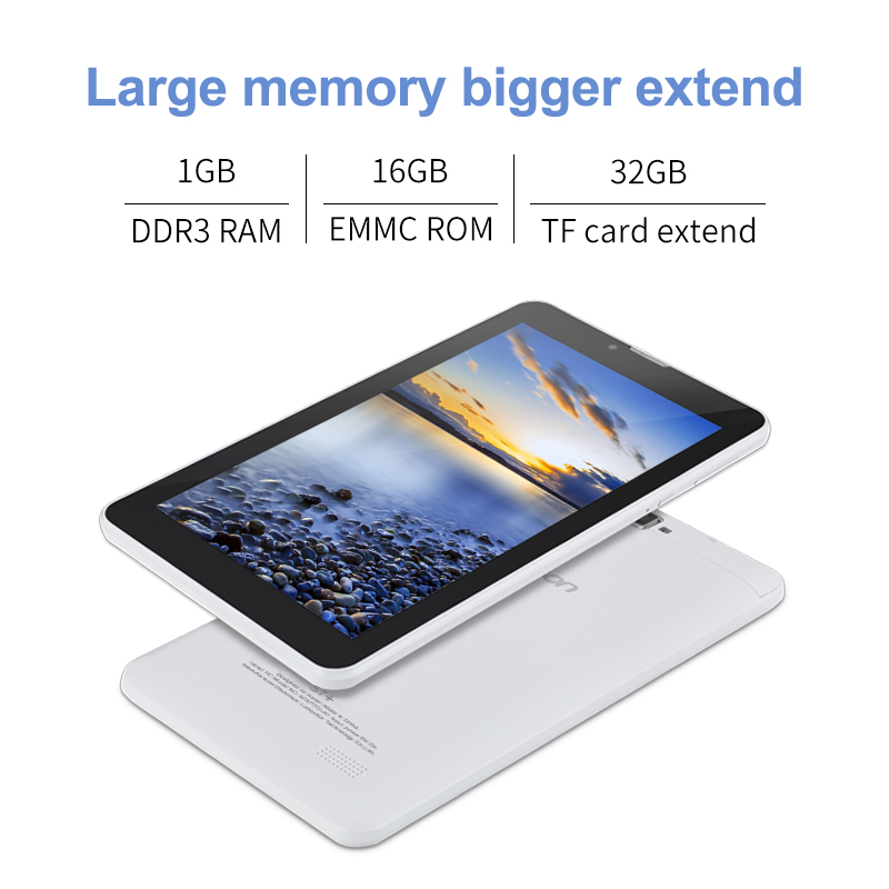 ❤️ Tablets Aoson S7+ 7 inch 3G Phone Call Tablet PC Android 7 0 16GB ROM+1G  RAM Quad Core Dual