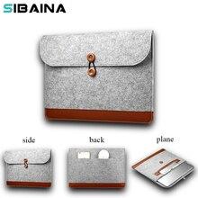 SABAINA Wool Felt Sleeve Bag for Macbook Air Pro Retina 11