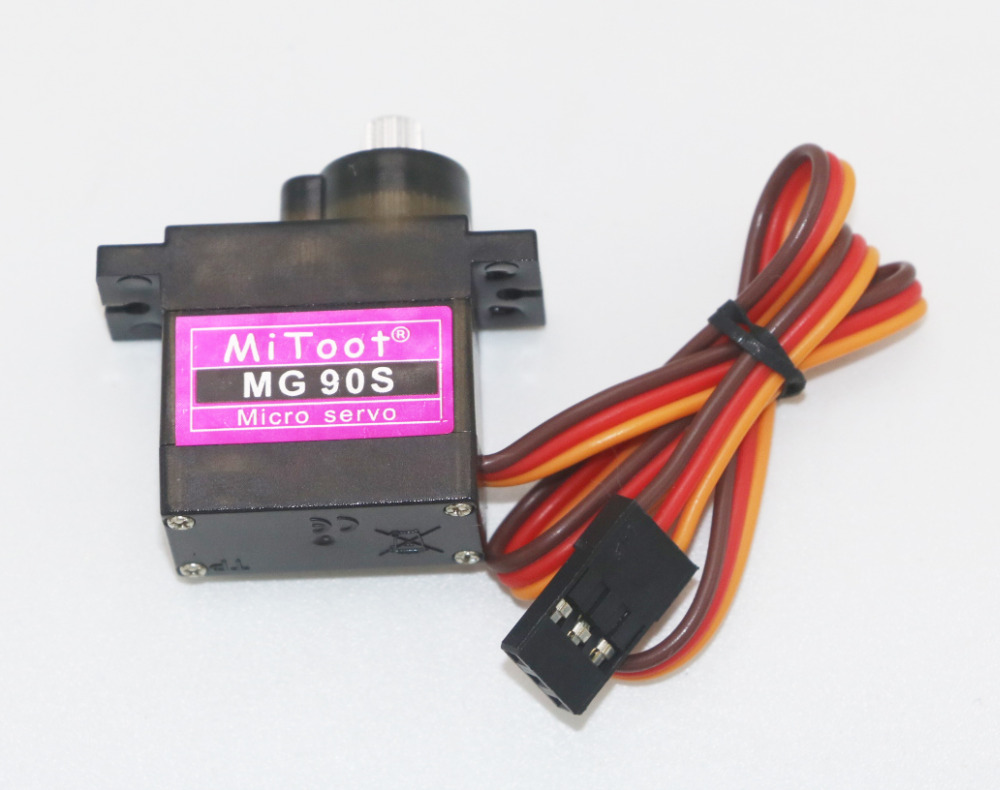 Image 4 - 5/10/20/50/100 pcs/lot Mitoot MG90S Metal gear Digital 9g Servo For Rc Helicopter Plane Boat Car MG90 for Arduino Wholesale-in Parts & Accessories from Toys & Hobbies