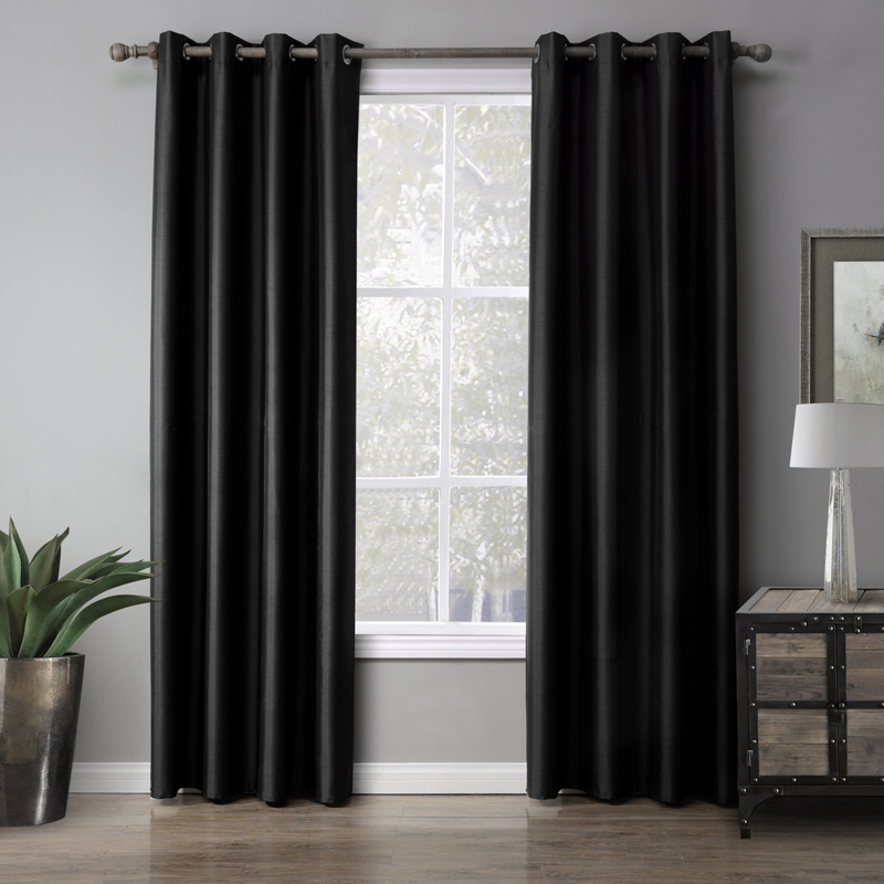 Europe Design Solid Curtain For Bedroom Decorative