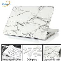Marble Texture Case For Apple Macbook Pro Retina 11 12 13 15 Laptop Bag Case For