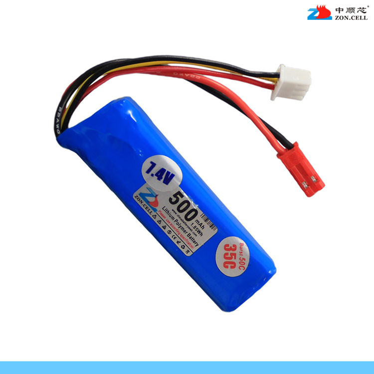 New In the core of <font><b>701855</b></font> 500mAh 7.4V helicopter aeromoing electric tool power polymer lithium <font><b>battery</b></font> Rechargeable Li-ion Cell image