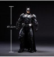 Новые Горячие 50 см Бэтмен супер герой Лига Справедливости фигурку игрушечные лошадки коллекция Рождество игрушка кукла