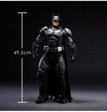 NEW hot 50 cm batman Super herói da liga da Justiça figura de ação coleção brinquedos boneca de brinquedo de natal