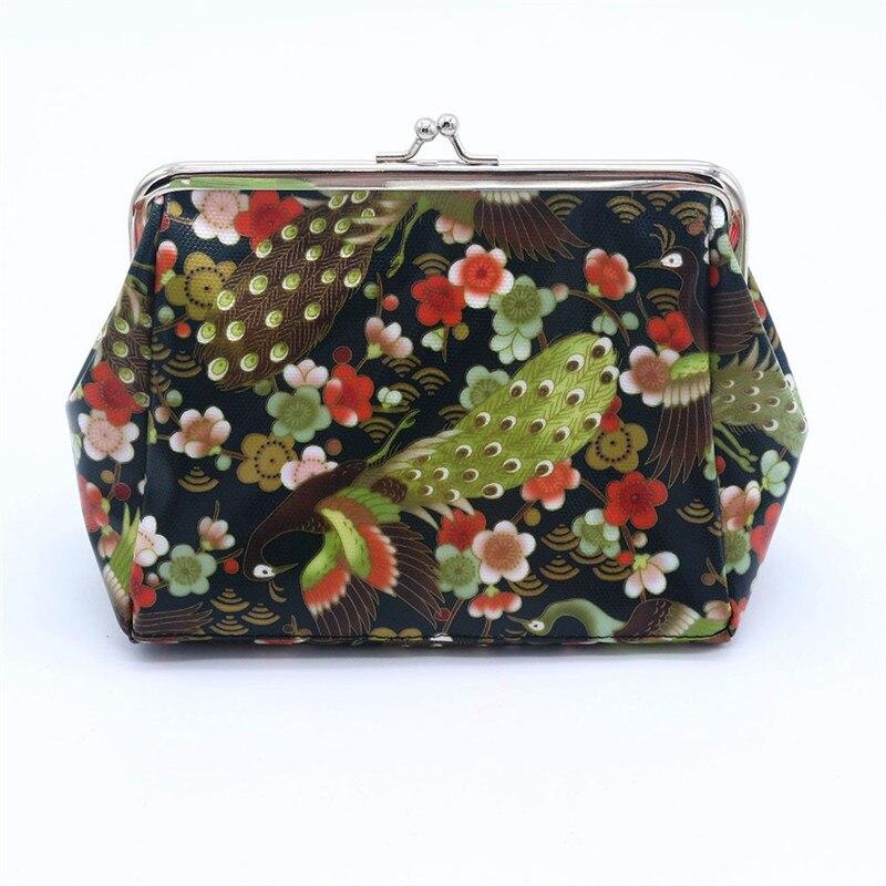 Coin purse Women Lady wallet Retro Vintage Small WalletS Hasp PurseS Clutch Bag monederos para monedas bolsa feminina women bag