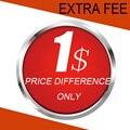 Taxa Extra, Diferença de preço Único