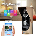 Wifi 720P NightVision Video intercom Wireless 140 Degree Video Door Phone Motion Detection For Andriod IOS Intercom Doorbell Cam