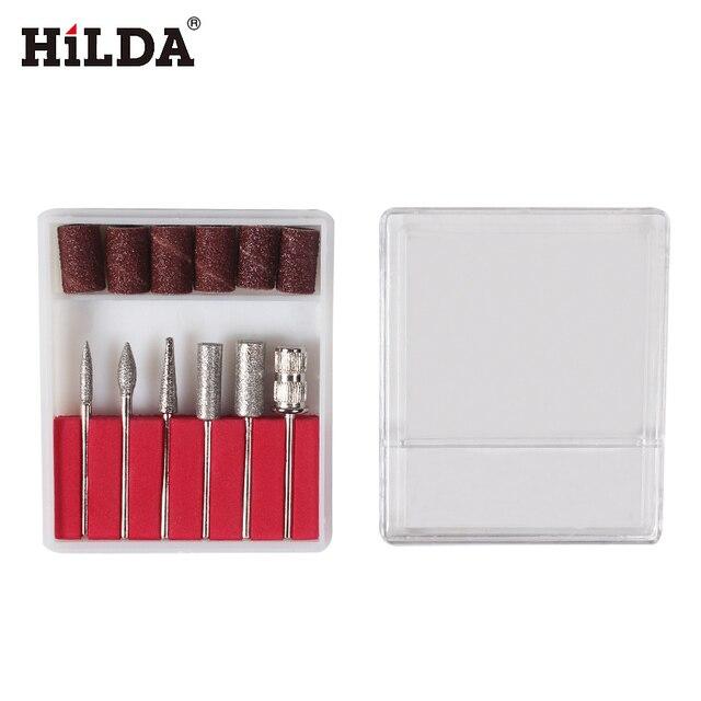 Хильда 6 шт. наждачные головы для Хильда инструменты + 6 шт. шлифовальные ленты dia. 12.7mm с барабан Сандер для сверла машина