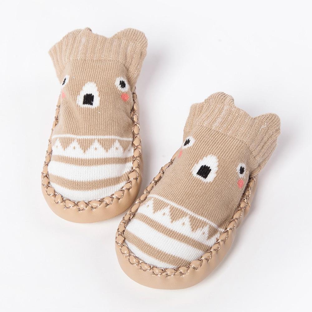 Baby Slipper Socks, Toddler Boys Girls Anti-slip Warm Cotton Walking Socks for 0-3 Years(12cm,Navy Blue)Baby Slipper Socks, Toddler Boys Girls Anti-slip Warm Cotton Walking Socks for 0-3 Years(12cm,Navy Blue)