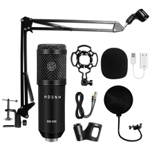 Professional bm 800 Condenser Microphone 3.5Mm Wired Bm-800 karaoke BM800 Recording Microphone for Computer Karaoke KTV