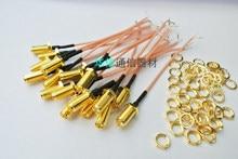5 teile/los RG178 Sma-buchse Auf PCB Solder Zopf-kabel Für WIFI Drahtlose GERINGER VERLUST Hohe Qualität Jack stecker Draht stecker