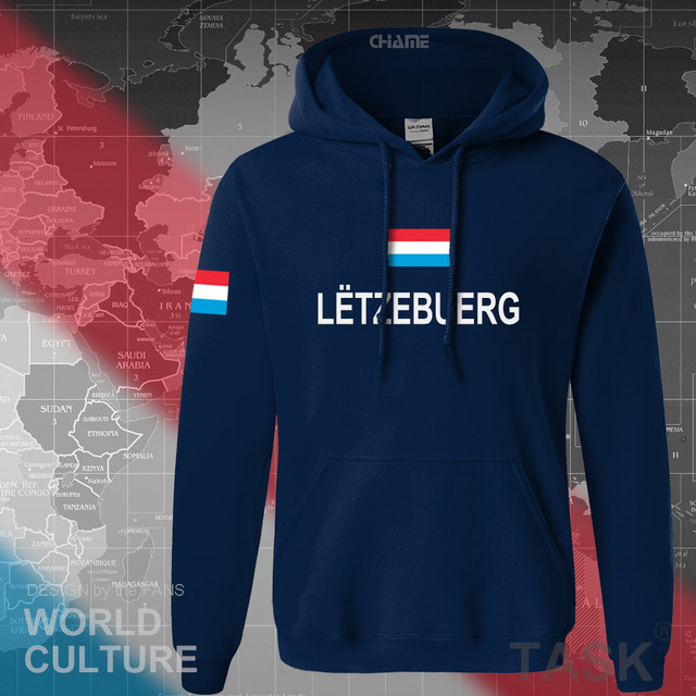 Luxembourg Luxembourger hoodies men sweatshirt sweat new hip hop streetwear clothing sporting tracksuit nation LUX Luxemburg 2