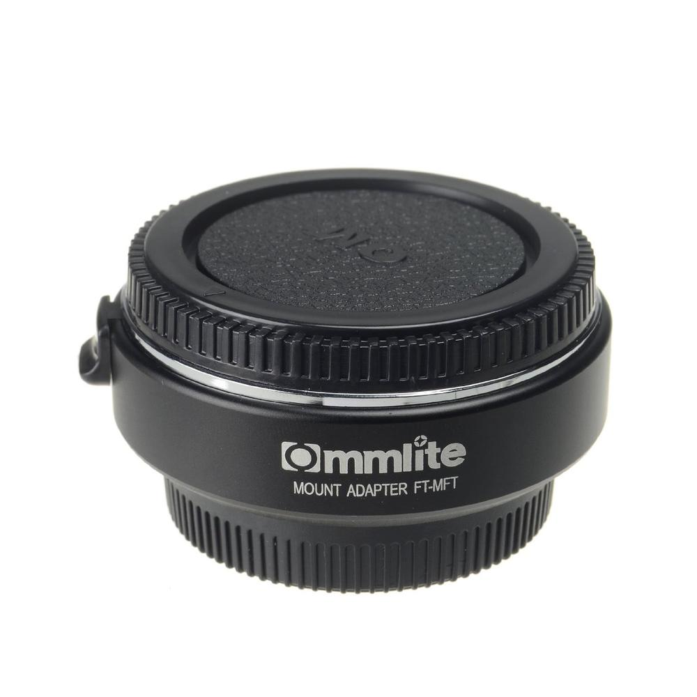 Commlite CM-TF-MFT Auto Focus Lens Mount Adapter for 4/3 to Olympus M4/3 Ring M 4 3