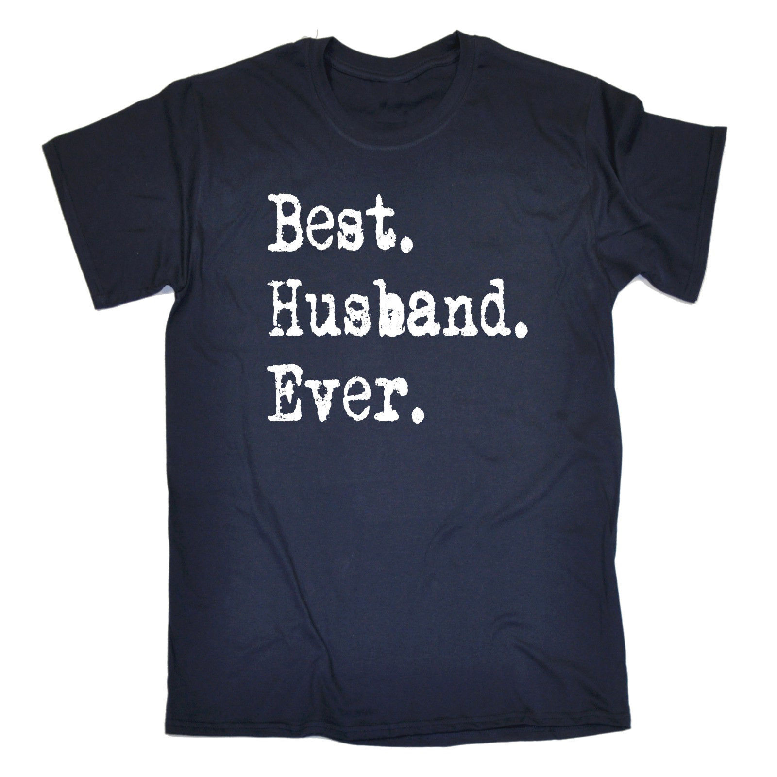 Best Husband Ever T Shirt Hubby Married Marriage Wedding Funny