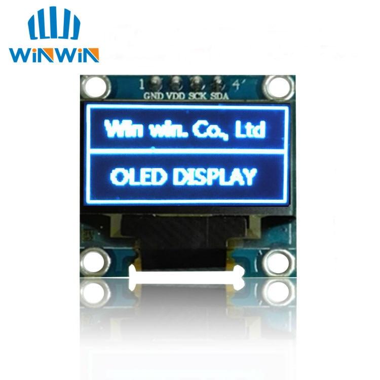 Image 4 - Новый 100 шт. 0,96 дюймовый IIC Серийный белый/синий/желтый OLED дисплей модуль 128X64 IEC SSD1306 12864 плата с ЖК экраном для Arduino-in ЖК-модули from Электронные компоненты и принадлежности on AliExpress