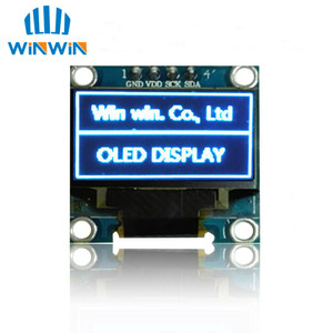 Image 4 - NEW 100pcs 0.96 inch IIC Serial White/Blue/Yellow OLED Display Module 128X64 I2C SSD1306 12864 LCD Screen Board  for Arduino