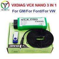 Update Online VXDIAG NANO Pro 3 IN 1 For G M VW Ford Mazda Toyota Volvo