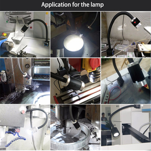 Image 5 - Barra suave de aluminio de alta potencia, 6 unidades/caja, 9W, 24V/220V, máquina de luz LED CNC, lámpara para mesa de trabajo, fresadoras