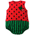 New 2016 Cute Fruit And Animal Short Sleeve Cotton Baby Clothes High Quality Newborn Baby Boy And Girl Jumpsuit Infant Clothing