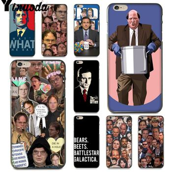 Yinuoda The office tv show Splendid Phone Accessories Case for iPhone 6S 6 7 8 Plus X 5 5S XS XR XSMAX11 11pro 11promax image