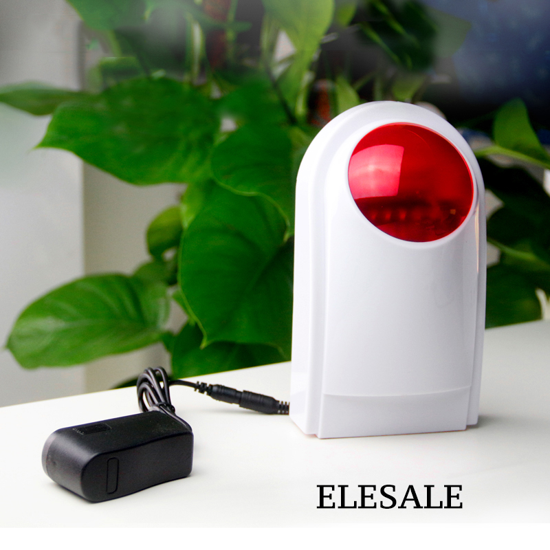 Wireless Alarm Outdoor Waterproof Flash Siren Sound Strobe Flash Alarm Siren For GSM Home Security Alarm System цены