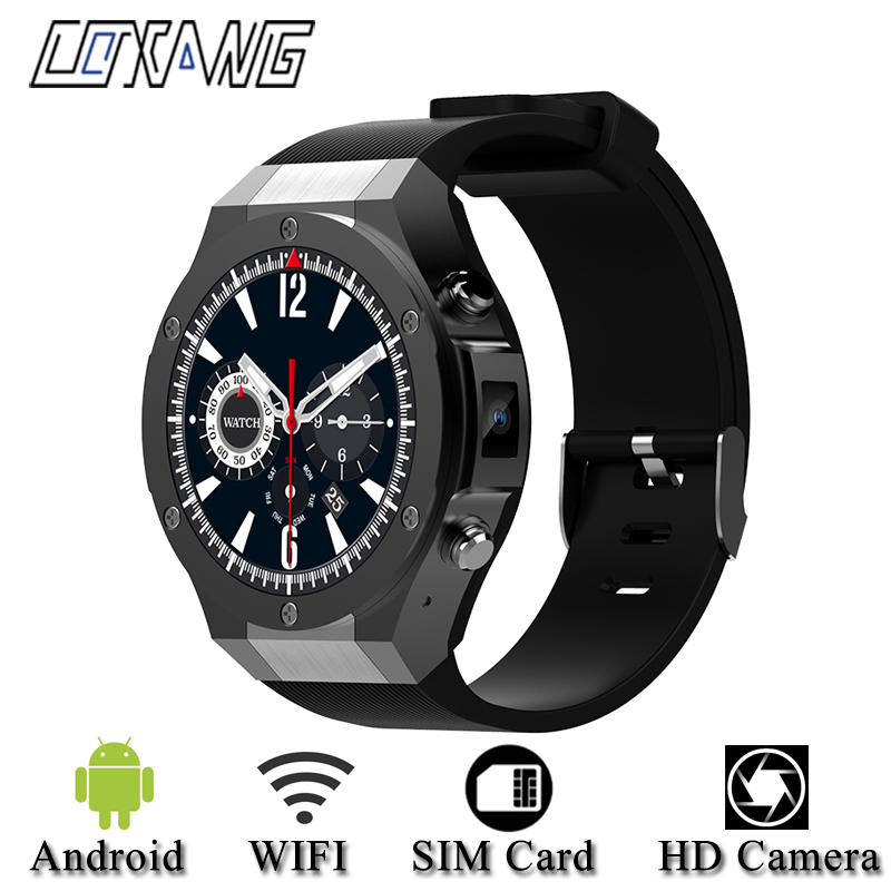 COXANG H2 Android 4.4 1G+16GB Smart Watch Phone SIM Dail Call 1.39 inch 3G wifi GPS Microwear SmartWatch For Android IOS Xiaomi