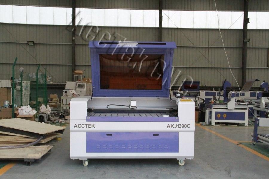 Máquina de marcado láser CO2 de área grande para papel de madera no metálico 90w
