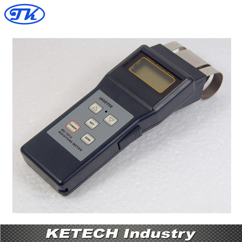 MC-7812 Search Type Tobacco Moisture Meter mc 7806 digital moisture analyzer price pin type moisture meter for tobacco cotton paper building soil