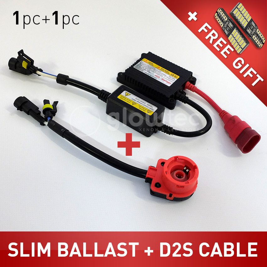 Slimline Ballast Wiring Diagram: 1pc 35W DC HID Slim Ballast Replacement For Xenon