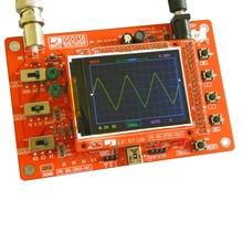 цена на DSO138 2.4 TFT Digital Oscilloscope DIY Kit  DIY Parts for osciloscopio Making Pocket-size Handheld Electronic Learning Set1Msp
